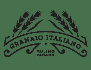 Logo granaio italiano nero