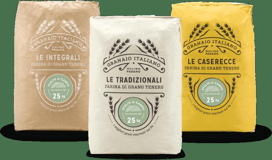 Sacchi farine scelte di campo