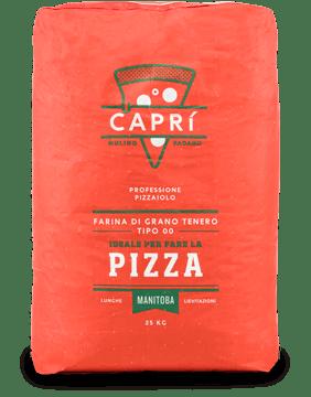 farina manitoba per pizza Caprì