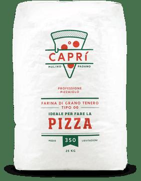 farina per pizza professionale medie lievitazioni Caprì