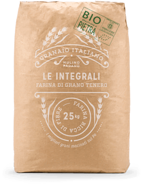 100% Stone-ground organic wheat