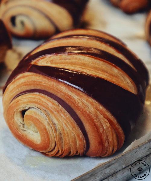 pain chocolat bicolore mulino padano