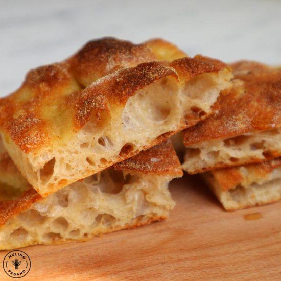 la pizza in teglia alla romana di mulino padano
